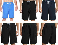 MEN'S SWIM SHORTS St John Bay Lined, Drawstring, Below the Knee Swimwear (#sh5a)