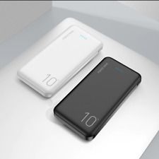 FLOVEME Power Bank 10000mAh Portable Charger Mobile External Battery Powerbank
