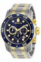 Invicta Men's Pro Diver 0077 Silver Stainless-Steel Plated Swiss Quartz Fashi...