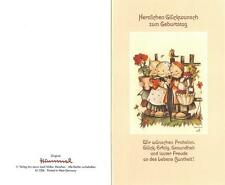"""RARITÄT Original Hummel Faltkarte um 1970 Ars sacra Verlag """"4000""""mit Umschlag"""