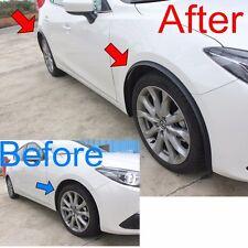 All New FENDER FLARE FOR Mazda 3 Hatchback Sedan 2014-2016 PVC