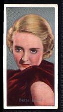 Carreras Film Stars (by Florence Desmond) 1936 (2) - Bette Davis No. 48