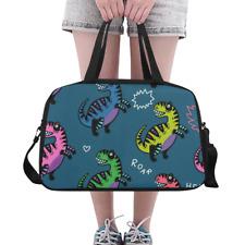 Fashion Overnight Bag Jurassic Dinosaur Weekend Travel Bag Weekender Duffle DIY