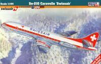 SE-210 CARAVELLE (SWISSAIR, FINNAIR & LTU MKGS)#D48 1/144 MISTERCRAFT LIMITED ED