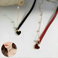 Pearls Necklaces Jewelry Pendant Women Necklace Heart choker Lover Accessories
