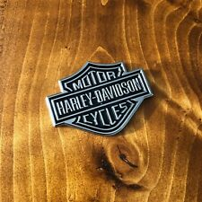 "New - Harley-Davidson™ Chrome Metal Motor Cycles Emblem Sticker Badge Logo 2"" HD"