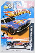HOT WHEELS 2012 HIDDEN TREASURE HUNT - HW RACING '71 MAVERICK CRABBER W+