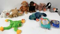 Beanie Babies Lot of 10 All Hang + Tush Tags included (4/5th gen)