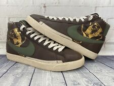 Nike High Top Independent Pleasure Club IPC Brown Shoes Men's Size 12 314962-231