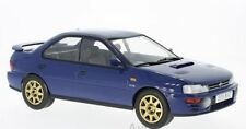 IXO 18CMC002 SUBARU IMPREZA WRX McRAE Series diecast model car blue 1995 1:18th