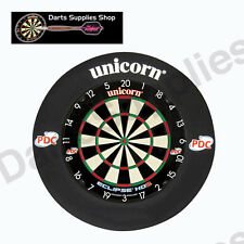 Unicorn Eclipse HD2 Dartboard with Black Striker Surround