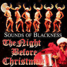 DAMAGED ARTWORK CD Sounds Of Blackness: The Night Before Christmas 2