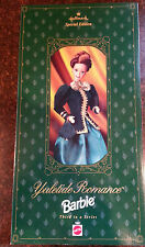 1996 Mattel Yuletide Romance Barbie Doll - NIB