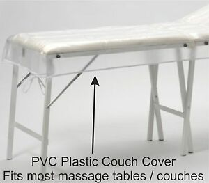 PLASTIC COUCH Cover For Massage Tables Bed Beauty Treatment Waxing Protection