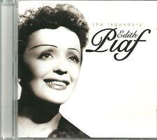 THE LEGENDARY EDITH PIAF CD - LES CROIX, LA VIE EN ROSE & MORE