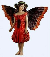 Retired Cicely Mary Barker Poppy Flower Garden Fairy Ornament Figurine Nib!