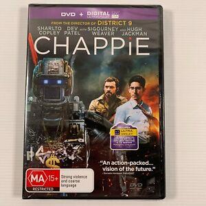 Chappie (DVD, 2015) Hugh Jackman Signourney Weaver Region 4 new sealed
