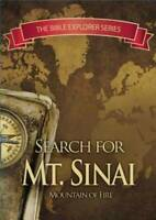 Bible Explorer Series Search For Mt. Sinai Mountain of Fire DVD New Sealed