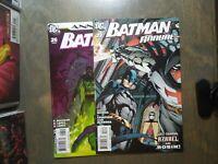 BATMAN 2 book lot Annuals #26,27 NM D.C comics