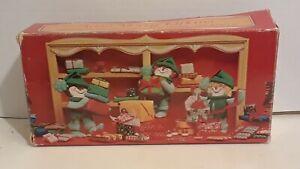 Vintage Avon Merry Elfkins elf fragranced Christmas soap in original box