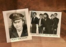 "Vintage 8"" x 10"" Photo Lot: Roky Erickson & The Aliens 13th Floor '80s Original"