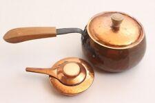 Fondue Brûleur et Pot Stöckli Netstal Swiss Fabriqué 60er Années Vintage