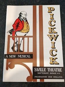 Pickwick The Musical, Harry Secombe, Vintage Saville Theatre Programme c.1950's