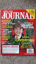 Ladies Home Journal December 2001 Harry Potter/Daniel Radcliffe In Bag And Board