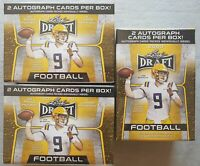 3x Leaf Draft Football NFL Blaster Box 2020 2 Autographs per Box