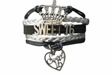 Sweet 16 Bracelet- Sweet 16 Jewelry, Perfect Birthday Gift for Girls