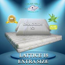 Materasso lattice MATRIMONIALE 160 X 200  Aloe Vera + 2 guanciali OMAGGIO