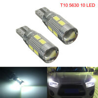 CANBUS ERROR FREE T10 501 194 W5W 5630 LED 10 SMD SIDE WEDGE LIGHT LAMP BULB