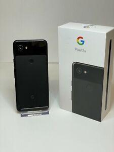 Google Pixel 3a 64GB Storage Just Black Network Unlocked Boxed - Screen Burn