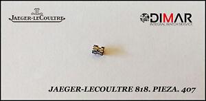 Jaeger-Lecoultre. CALIBRE.818 - Pieza. 407
