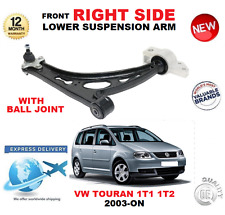 FOR VW TOURAN 1T1 1T2 2003-> FRONT LOWER RIGHT TRACK CONTROL ARM WITH BALL JOINT