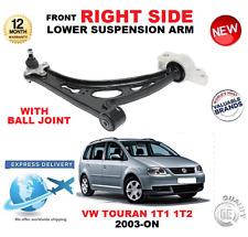 für VW Touran 1T1 1T2 2003- > VORNE UNTEN RECHTS QUERLENKER Arm mit Kugelgelenk
