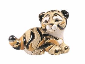 Rinconada - Baby Siberian Tiger Figurine F325  Approx 6cm High