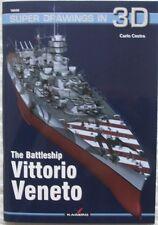 The Battleship VITTORIO VENETO - Super Drawings in 3D - Kagero ENGLISH!