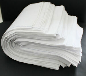 10kg Putzlappen Putztücher Reinigungstücher 100%reine Baumwolle Zuschnitt Weiss