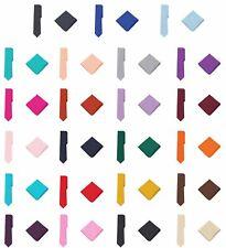 """Jacob Alexander Polka Dot Print Men's Slim 2.75"""" Tie Pocket Square Set"""