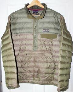 Rare Patagonia Snap-T Down Pullover Smock Jacket Medium Oi Polloi