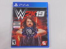 WWE 2K19 PS4 PlayStation 4 2019 Wrestling Video Game