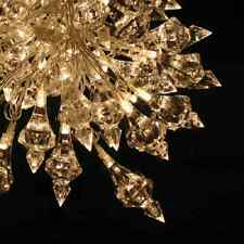 *NEW* String of 20 LED Fairy Lights GLITZY CRYSTAL Battery Operated