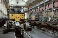 PHOTO  CLASS 31 LOCO NO 31271 AT STRATFORD DEPOT 1989