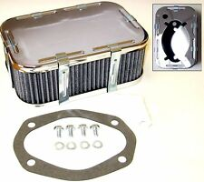 WEBER DFAV/DFV/DFEV CARBURETTOR AIR FILTER/CLEANER KIT (63mm TALL)