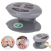 Nail Art Finger Toe Varnish Dryer Polish Warm & Cool Blower Fan Breeze Sensor
