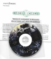 Circle II Circle - Reign of Darkness ultra rare metal promo (Savatage)