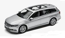 GENUINE VW PASSAT B8 ESTATE REFLEX METALLIC SILVER 1:43 SCALE DIECAST MODEL CAR