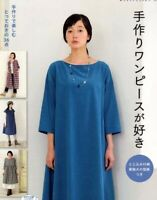 love Handmade DRESSES - Japanese Dress Pattern Book w/ Paper pattern