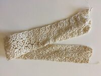 Antique Lace Trim Edging Sewing Doll Clothes Teddy Bears Primitive